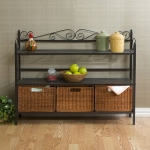 Bakers-Rack-with-Three-Rattan-Drawers-P11748413