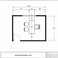 Office Desk only Diagram a