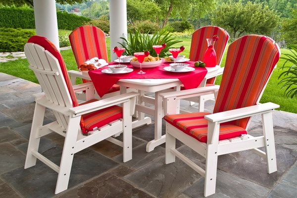 Recycled Plastic Patio Dining Set