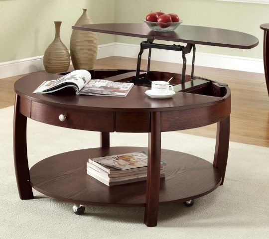 Custom Lift Up Coffee Table 123